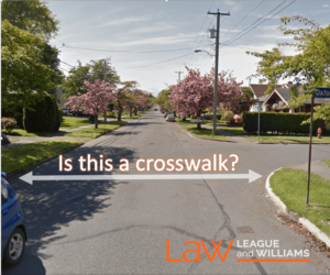 Crosswalk or not? That is the Question
