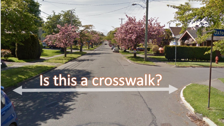 Crosswalk, or Not? That is the Question
