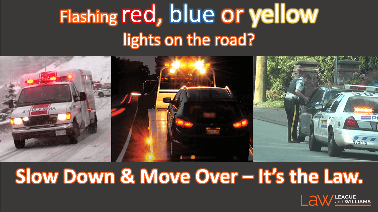 Slow Down And Move Over, It's BC Law (video Blog)